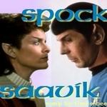Saavik/Spock - Star Trek